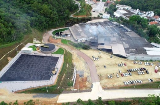 Nova ETE: sinônimo de maior produção e sustentabilidade